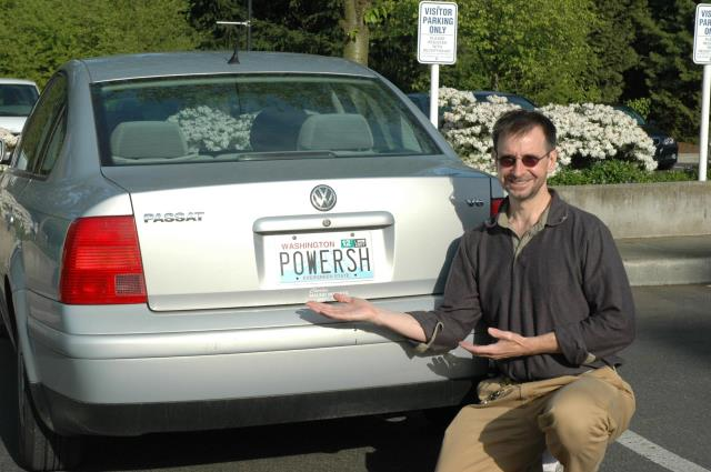 Jeffrey Snower, his car and PowerShell- licence plate